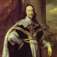 King Charles I, advocate of the divine right of kings