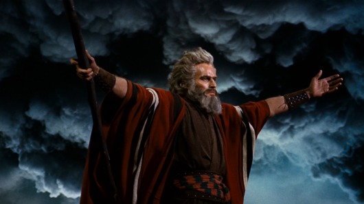 Moses in the 10 Commandments